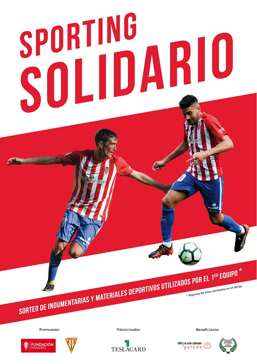 Cartel de Sporting solidario